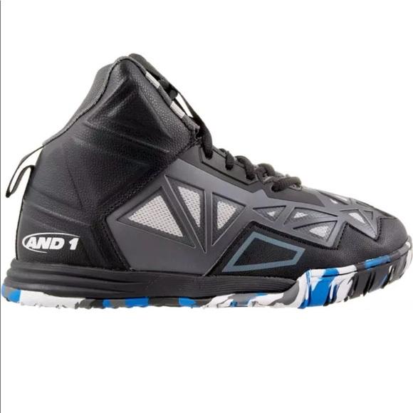 AND1 Boys Grade School Chaos Basketball Shoes 97e4116b892